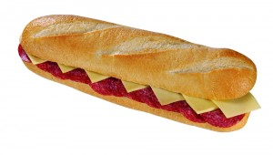 Salamibaguette