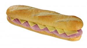 Schinkenbaguette